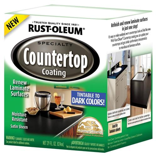 Rustoleum Countertop Paint Application : Rust-Oleum Specialty Countertop Coating from Lowes Paints & Stains ...