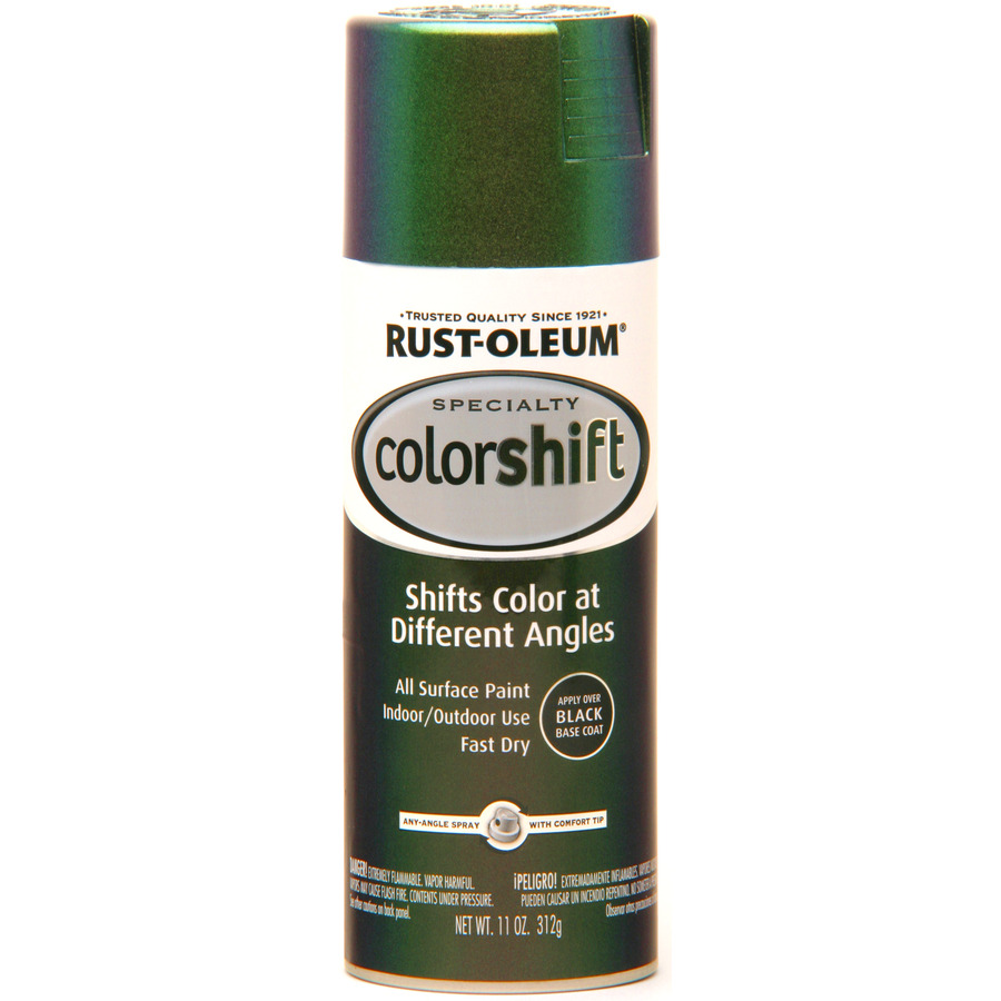 Shop Rust Oleum Specialty 11 Oz Green High Gloss Spray Paint At