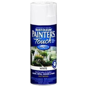 Rust-Oleum 12 Oz. White Gloss Spray Paint