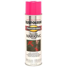 Professional 15 Oz. Fluorescent Pink Flat Spray Paint