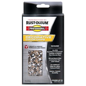 Rust-Oleum Professional Professional - 1lb Tan Chip Blend
