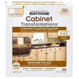 Rust-Oleum Countertop Transformations Light Base Satin Cabinet Resurfacing Kit (Actual Net Contents: 137 Fluid Oz.)