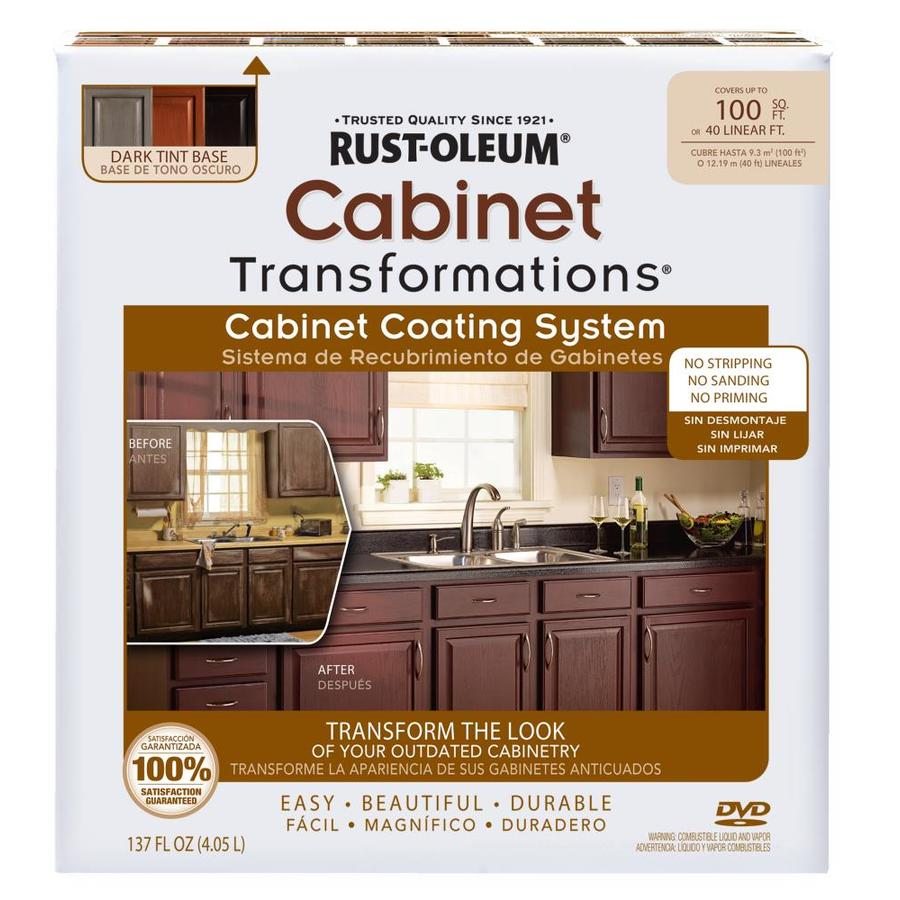 Rustoleum Countertop Paint Colors Lowes : Shop Rust Oleum Cabinet Transformations Kit Interior Satin Tintable
