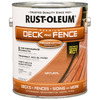 Rust-Oleum Gallon Exterior Flat Natural Paint and Primer in One