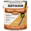 Rust-Oleum Gallon Exterior Flat Cedar Paint and Primer in One