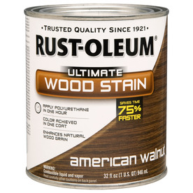 Rust-Oleum 1-Quart American Walnut Wood Stain
