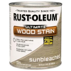 Rust-Oleum Quart Sunbleached Stain