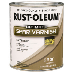 Rust-Oleum Quart Satin Spar Varnish