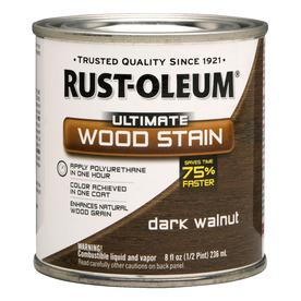 Rust-Oleum Dark Walnut Wood Stain