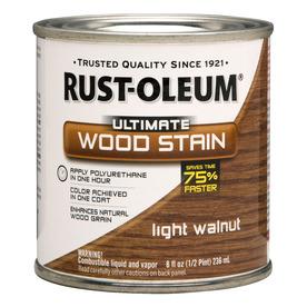 Rust-Oleum Light Walnut Wood Stain