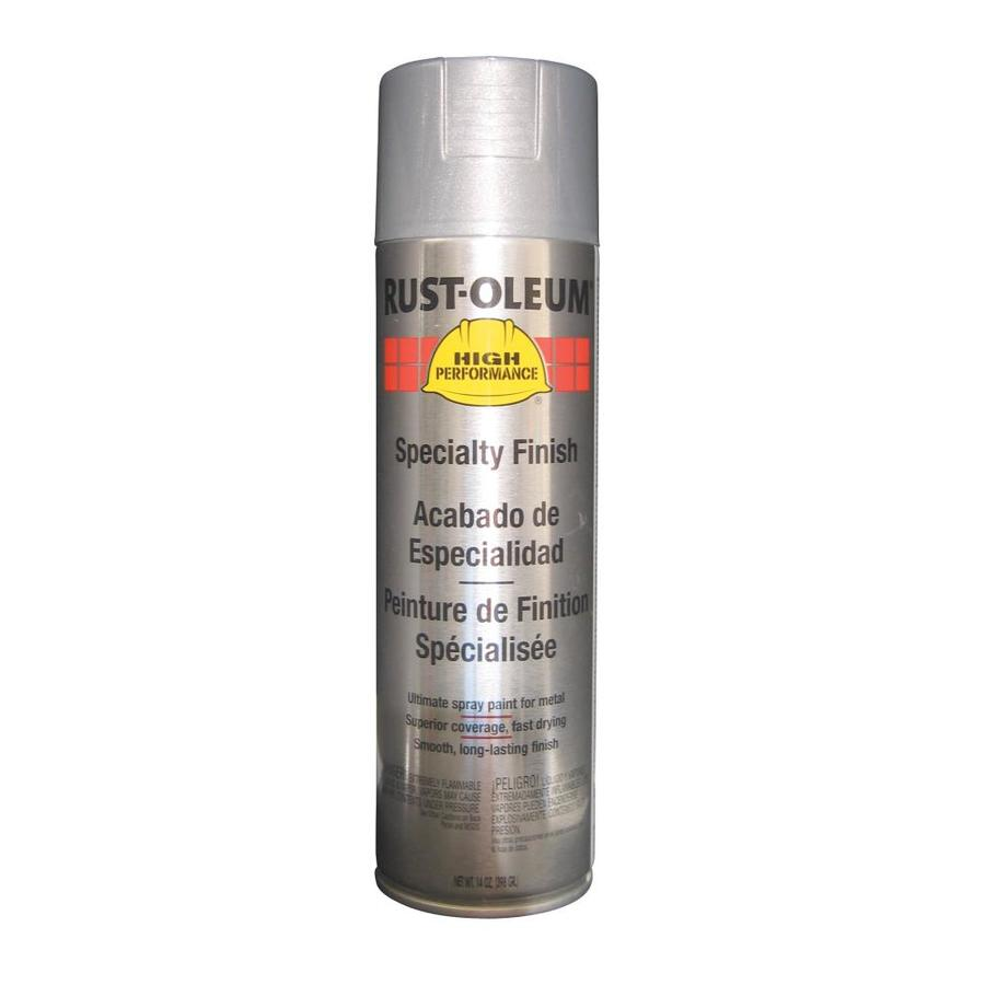 Rust Oleum High Performance Aluminum Rust Resistant Enamel Spray Paint (Actual Net Contents 14 oz)