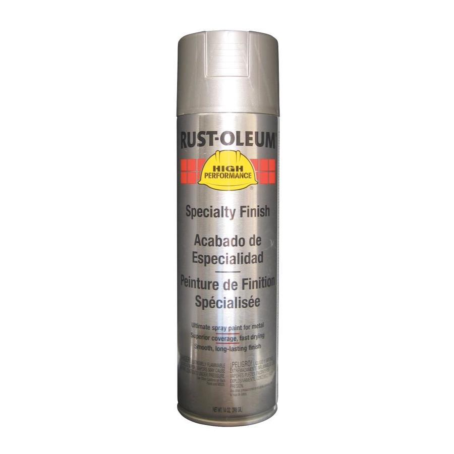 Shop Rust Oleum 14 Oz Stainless Steel Semi Gloss Spray Paint At