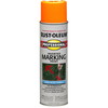 Rust-Oleum Professional Marking Fluorescent Red Orange Fade Resistant Spray Paint (Actual Net Contents: 15-oz)