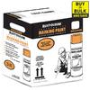 Rust-Oleum Professional Water Based Marking Orange Flourescent Spray Paint (Actual Net Contents: 15-oz)