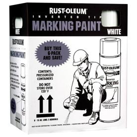Rust-Oleum 15 oz White Flat Spray Paint