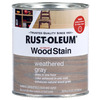 Rust-Oleum Ultimate Wood Stain 32-fl oz Weathered Gray Oil-Based Interior Stain