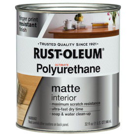 Rust-Oleum Quart Ultimate Poly Matte Polyurethane