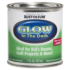 Shop rust oleum specialty luminous green satin glow in the dark water based interior paint - Rust oleum glow in the dark paint exterior collection ...