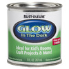 Rust-Oleum Luminous Green Satin Glow In The Dark Water-Based Interior Paint (Actual Net Contents: 7 Fluid Oz.)