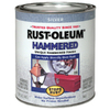 Rust-Oleum 32 fl oz Interior/Exterior Silver Hammered Paint