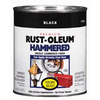 Rust-Oleum Quart Interior/Exterior Black Hammered Paint