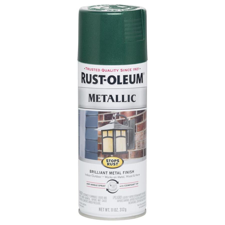Shop Rust Oleum 11 Oz Racing Green Spray Paint At