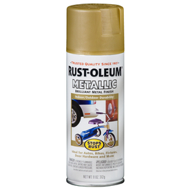 Rust-Oleum 11 Oz. Gold Rush Flat Spray Paint