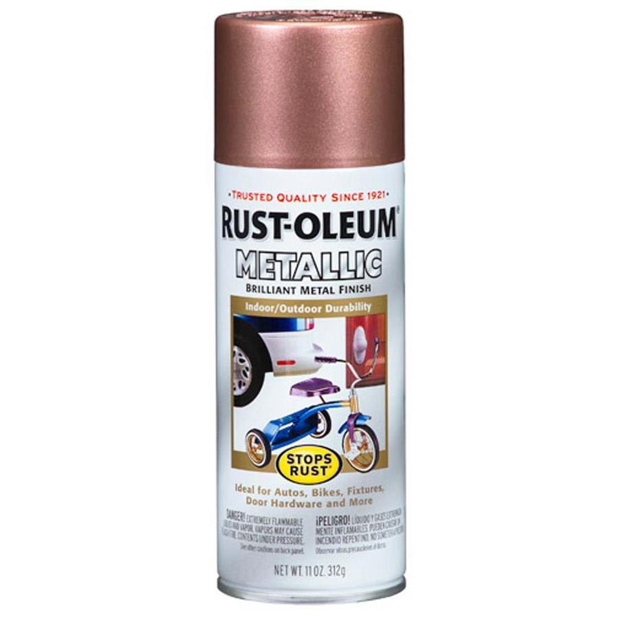 shop rust oleum 11 oz copper matte spray paint at. Black Bedroom Furniture Sets. Home Design Ideas