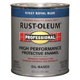 Rust-Oleum Quart Interior/Exterior Gloss Royal Blue Paint
