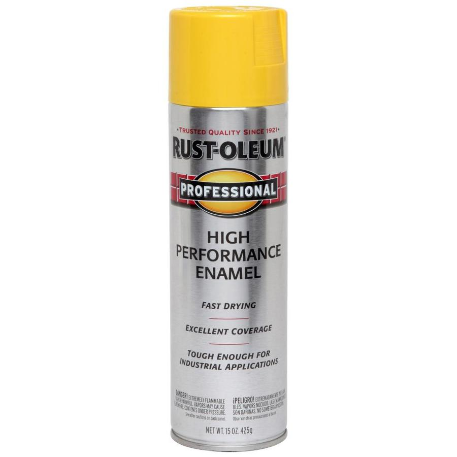 shop rust oleum 15 oz safety yellow gloss spray paint at. Black Bedroom Furniture Sets. Home Design Ideas