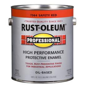 Rust-Oleum 128 fl oz Interior/Exterior Gloss Safety Red Paint