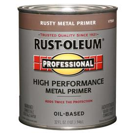Rust-Oleum Professional High Performance Red Flat Oil-Based Enamel Interior/Exterior Paint (Actual Net Contents: 32-fl oz)