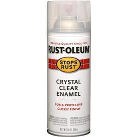 Rust-Oleum 12-oz Crystal Clear Gloss Spray Paint