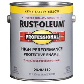 Rust-Oleum 128 fl oz Interior/Exterior Gloss Safety Yellow Paint