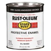 Rust-Oleum Alkyd Enamel Stops Rust Anodized Bronze Gloss Oil-Based Enamel Interior/Exterior Paint (Actual Net Contents: 32-fl oz)