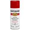 Rust-Oleum Stops Rust Carnival Red Rust Resistant Enamel Spray Paint (Actual Net Contents: 12-oz)