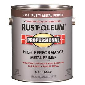 Rust-Oleum 128 fl oz Interior/Exterior Flat Rusty Metal Primer Paint and Primer in One