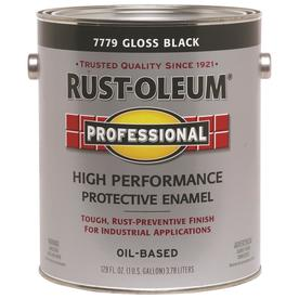 Rust-Oleum 128 fl oz Interior/Exterior Gloss Black Paint