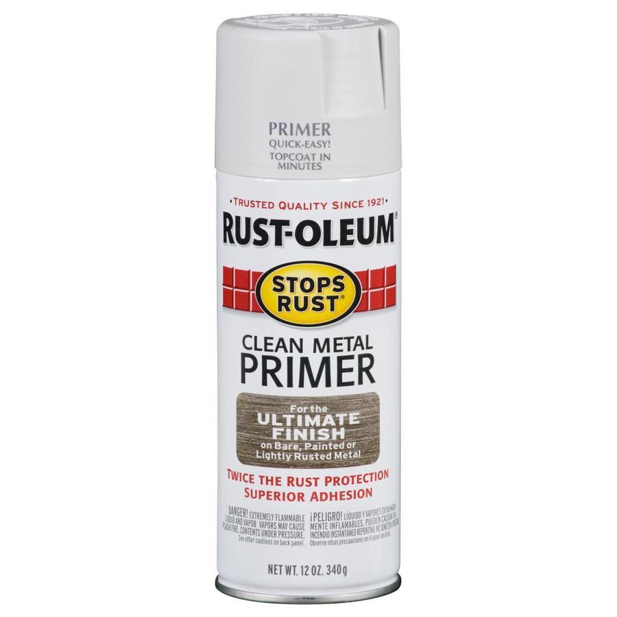 Shop Rust Oleum 12 Oz White Flat Spray Paint At