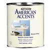 Rust-Oleum American Accents Quart Interior/Exterior Satin Blossom White Paint