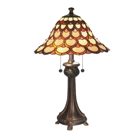 shop dale tiffany 24 5 in indoor table lamp with shade at. Black Bedroom Furniture Sets. Home Design Ideas