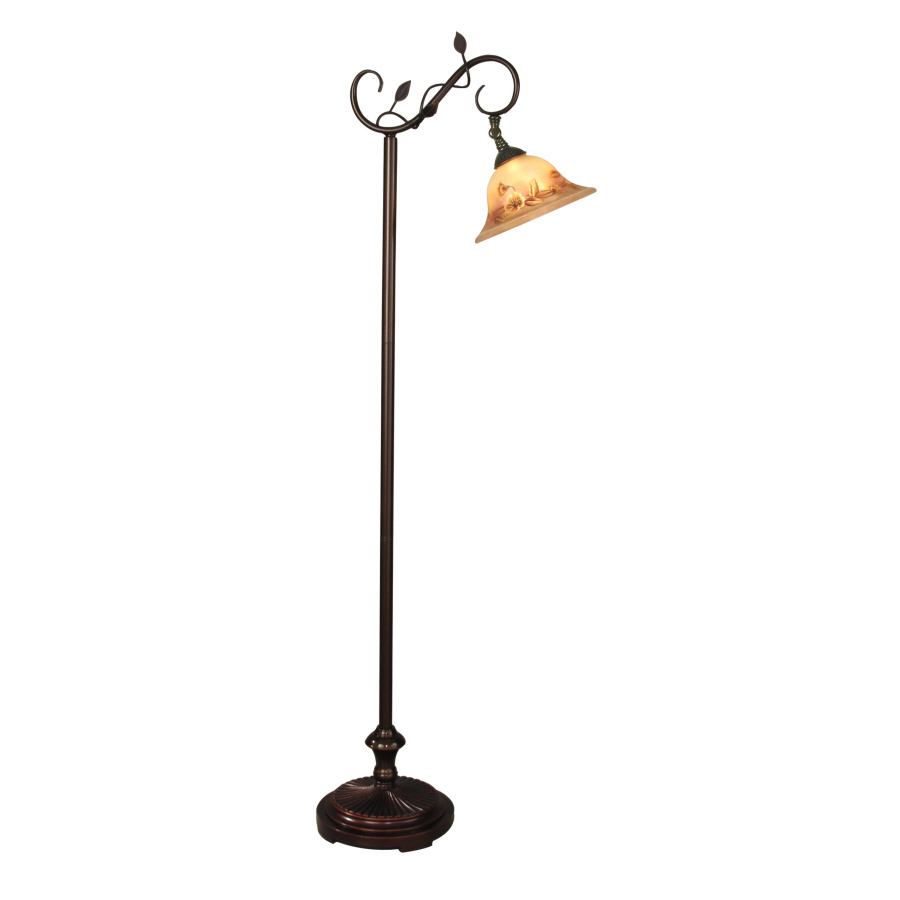 Shop portfolio 60 in transitional indoor floor lamp with for Lowes floor lamp set