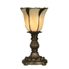 Portfolio Antique Bronze Tiffany Uplight Lamp
