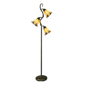 Portfolio 68-1/4-in Indoor Floor Lamp with Shade