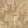 Congoleum 12-ft W Panning for Gold Geometric Low-Gloss Finish Sheet Vinyl
