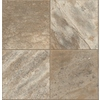 Congoleum 12-ft W River Bank Tile Finish Sheet Vinyl