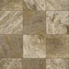 Congoleum 6-ft W Sandy Brown Tile Low-Gloss Finish Sheet Vinyl