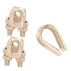 Covert 3/16-in Stainless Steel Clamp Set