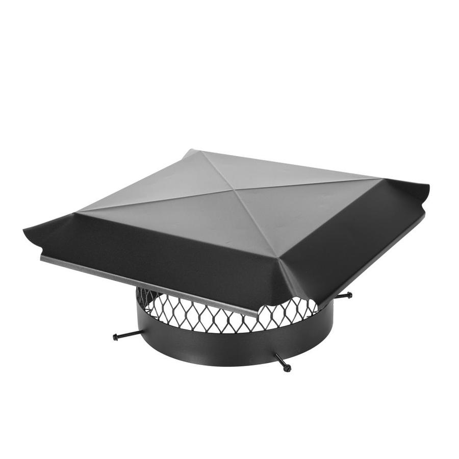 Shop Shelter 12 In Round Black Painted Galvanized Steel