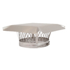 Shelter 9-in Stainless Steel Chimney Cap
